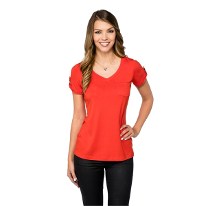 Chloe Women's V-neck Top