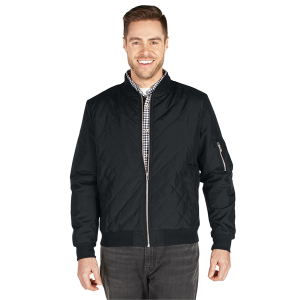 Men's Quilted Boston Flight Jacket