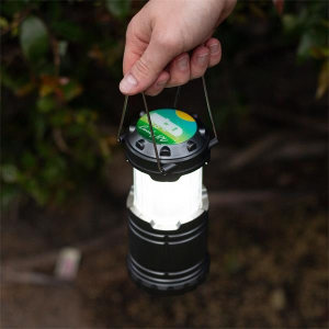 Lumens 2-in-1 Pop Up LED Flame Lantern